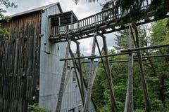 Miniera del Kentucky, la contea di Sierra, California Immagini Stock