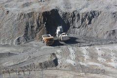 miniera 3 del Rame-molibdeno Immagini Stock