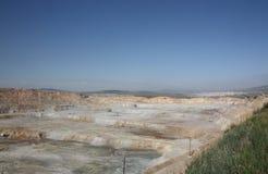 miniera 4 del Rame-molibdeno Fotografie Stock Libere da Diritti