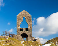Miniera del sud Cornovaglia di Caradon Fotografie Stock