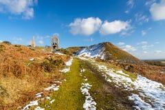Miniera del sud Cornovaglia di Caradon Fotografia Stock Libera da Diritti