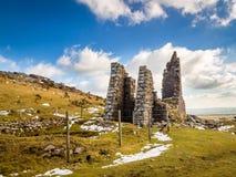 Miniera del sud Cornovaglia di Caradon Immagine Stock Libera da Diritti