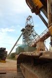 Miniera del sud di Crofty Fotografia Stock