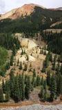Miniera dell'alta montagna Fotografia Stock Libera da Diritti