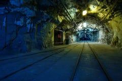Miniera di carbone Fotografie Stock Libere da Diritti
