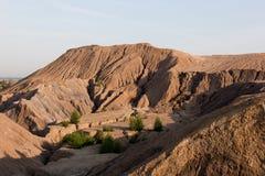 Miniera di carbone abbandonata nella regione di Tula, Russia Immagine Stock Libera da Diritti