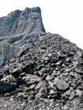 Miniera di carbone isolata Immagini Stock Libere da Diritti