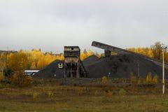 Industria del territorio di Krasnojarsk Fotografie Stock Libere da Diritti