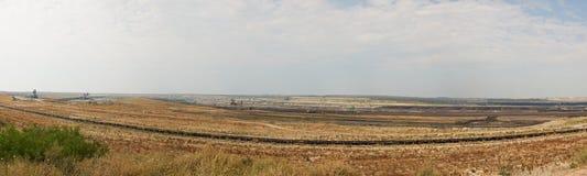Miniera di carbone Maritsa Iztok, Bulgaria Fotografia Stock Libera da Diritti