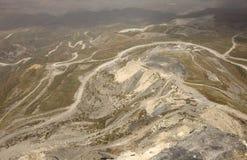 Miniera di carbone negli appalachi fotografia stock