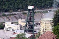 Miniera di carbone in Turchia. immagini stock libere da diritti