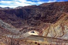 Miniera di a cielo aperto di Bisbee, Arizona Immagini Stock Libere da Diritti