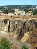 Miniera di Falun Immagini Stock