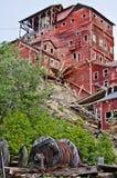 Miniera di Kennecott fotografie stock libere da diritti