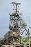 Miniera di latta di Geevor in Cornovaglia fotografia stock libera da diritti