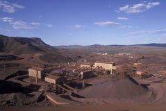 Miniera di Mt Tom Price Iron Ore fotografia stock libera da diritti