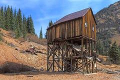 Miniera di oro abbandonata Fotografia Stock