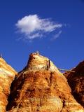 Miniera di rame abbandonata Immagini Stock Libere da Diritti
