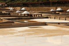 Miniera di sale dei terrazzi Immagini Stock Libere da Diritti