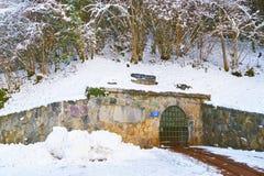 Miniera di sale del DES Alpes di Sel di Bex in Svizzera Immagine Stock Libera da Diritti