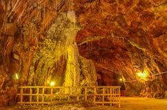 Miniera di sale di Khewra Pakistan fotografie stock