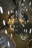Miniera di sale di Turda Fotografia Stock