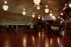 Miniera di sale di Wieliczka Immagine Stock