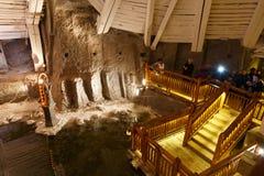 Miniera di sale di Wieliczka Immagini Stock Libere da Diritti