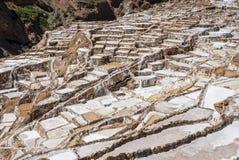 Miniera di sale Maras immagine stock