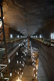 Miniera di sale moderna nella Transilvania Fotografia Stock Libera da Diritti