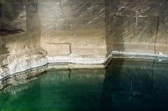 Miniera di sale storica Fotografia Stock Libera da Diritti