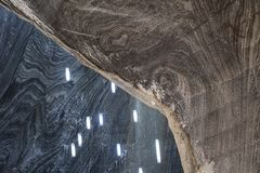 Miniera di sale di Turda, Romania immagini stock