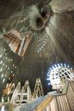 Miniera di sale in Turda, Romania Fotografie Stock