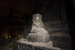 Miniera di sale di Wieliczka fotografie stock