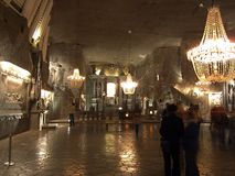 Miniera di sale Wieliczka Fotografia Stock Libera da Diritti