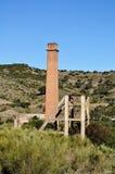 Miniera e fabbrica abbandonate Fotografia Stock