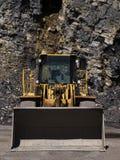 Miniera e macchinario Fotografia Stock