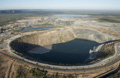 Miniera Uranium immagine stock libera da diritti