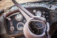 Miniere abbandonate di Alquife del macchinario Fotografie Stock