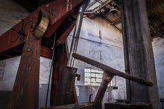 Miniere abbandonate di Alquife del macchinario Immagini Stock Libere da Diritti