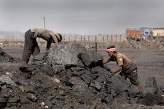 Miniere & forza di lavoro Fotografia Stock