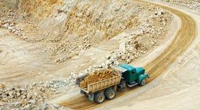 Miniere della dolomia Immagine Stock