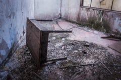 Miniere di Alquife abbandonate Tabella Fotografia Stock Libera da Diritti