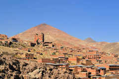 Miniere di Cerro Rico in Bolivia immagini stock