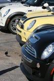 minifärgrik cooper för bilar arkivbild