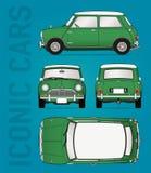 Minifassbindervektorillustration Stockbilder