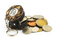 Minigeldtasche in Thailand Stockfoto