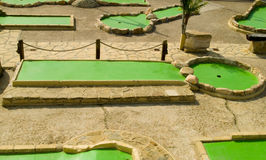 Minigolf Royalty Free Stock Image