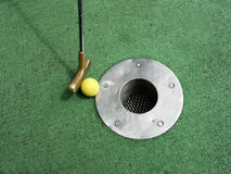 Minigolf Royalty Free Stock Photo