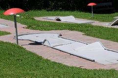 Minigolf Kurs Stockbild